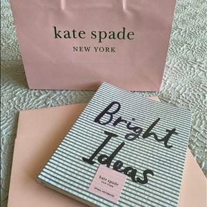 Kate Spade Notebook ♠️